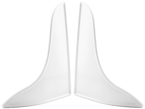 Prime-Line M 6086 Bath Tub Splash Guard, 9 in. x 10-3/4 in., Plastic, White