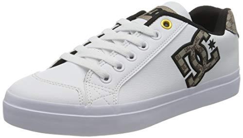 DC Shoes Chelsea Plus Se, Basket Femme, White/Tan, 38.5 EU