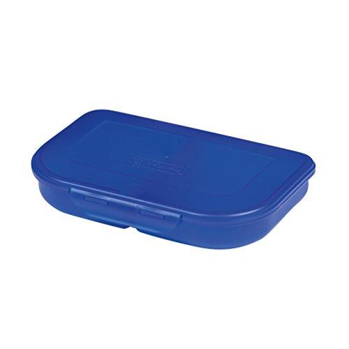 Herlitz 11415304 Brotdose, blau