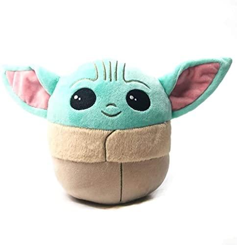 MILAOSHU Star Wars Juguete de Felpa Juguete de Peluche bebé Yoda Figura de Peluche Anime Baby Yoda Suave Lindo Regalo para niños-26cm