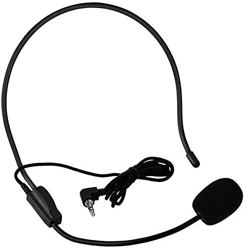 Cordless Mini micrófono Condensador de Mini cableado, micrófono portátil de 3.5 mm...