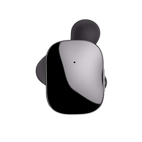 TWS Auricular Bluetooth OYSOHE Inalámbrico Auriculares con Dos Orejas Micrófono Auricular Manos Libres Inteligente (Negro)