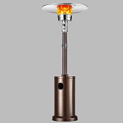 ZHAOJH Patio Heater,Adjustable Height Outdoor Heaters for Patio Propane,Floorstanding Liquid Propane Patio Heater for A Covered Porch with Roof