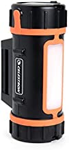 Celestron - PowerTank Lithium Telescope Battery – Rechargeable Portable 12V Power Supply for Computerized Telescopes - 10 hour capacity/86 Wh - Red/White LED Flashlight - 2 USB Ports