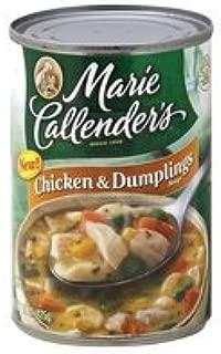 Marie Callender's, Chicken & Dumplings Soup, 15oz Can (Pack of 6)