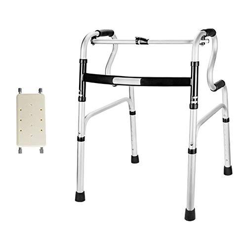 PAKUES-QO Andador De Ruedas Ligero Caminante para Personas Mayores Caminante para Discapacitados Apoyabrazos Soporte Auxiliar para Caminar