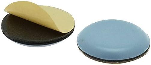 8X Teflon Almohadillas para Muebles /Ø 25mm Autoadhesiva Teflon Brillo Ptfe Unteresetzer SBS Pat/ín Silla Tischgleiter Regalgleiter Nuevo