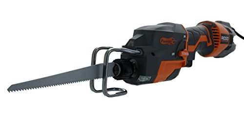 Ridgid R3031 Fuego Corded 3,500 SPM 6 Amp Compact One-Handed Reciprocating Saw (Bare Tool Only)