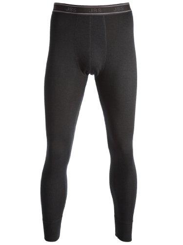 jbs Herren Lange Unterhose Dess. 993 Wool, Schwarz, XL