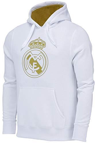 Real Madrid Sudadera Capcuhe Colección Oficial – Hombre – Talla XXL