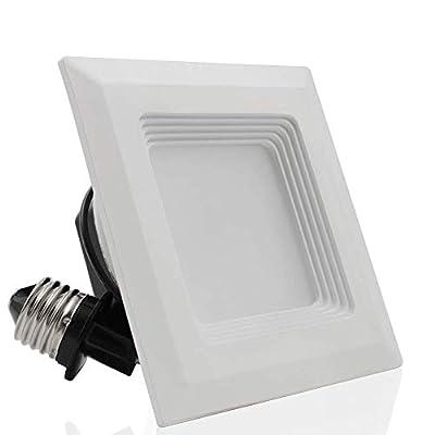 4'' square 9W recessed light