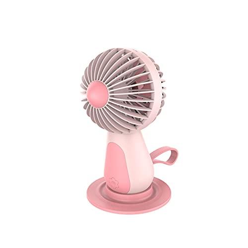 xinyawl Ventilador De Mano Mini Ventilador de Escritorio USB Recargable portátil Ventilador portátil refrigerador de Aire de refrigeración Bolsillo de enfriamiento para Viajes al Aire Libre Hogar