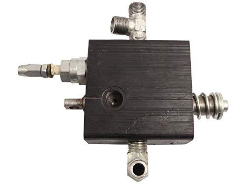 SECURA Hydraulisches Steuergerät Steuerventil kompatibel mit Motec PH10000S Holzspalter