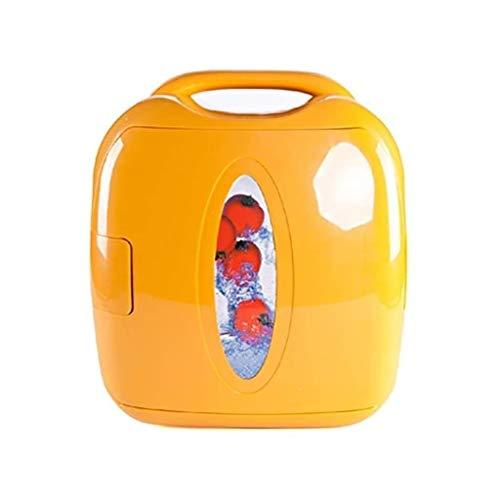 QJL_ANA M_LRSSK Mini 8L Nevera cosmética del refrigerador del refrigerador y Calentador for el hogar, Oficina, Coche, Dormitorio o Barco de Picnic Camping