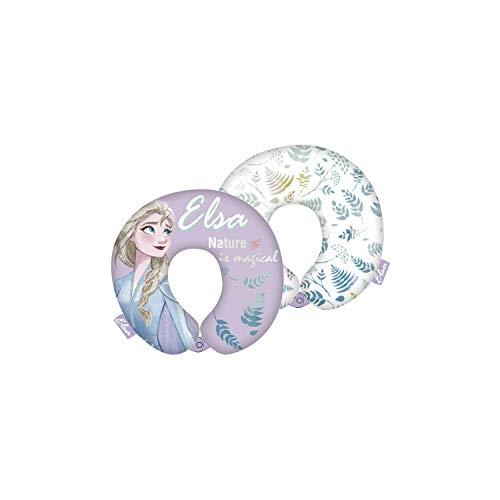 ARDITEX WD13333 - Cuscino per collo da 28 x 28 x 6 cm Disney-Frozen II