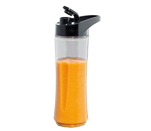 Cilio 0000491449 Smoothie-Flasche mit Deckel, transparent