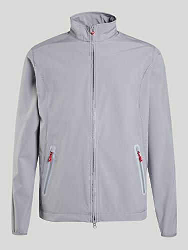 Slam Hampton Softshell Coat Jacket Coat 2.1 Gris. Transpirable - Transpirabilidad - Cortavientos - Corte Ajustado