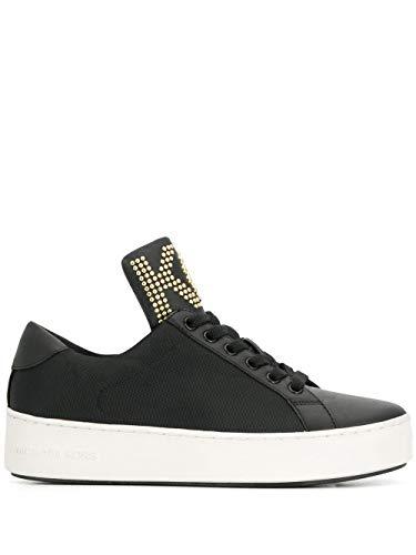 Luxury Fashion | Michael Kors Dames 43T9MNFS1D001 Zwart Stof Sneakers | Seizoen Outlet