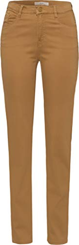 BRAX Damen Style.Mary Style Mary Five-Pocket-Hose in winterlicher Qualität Slim Fit, Braun (Cognac 55), 40 Lang