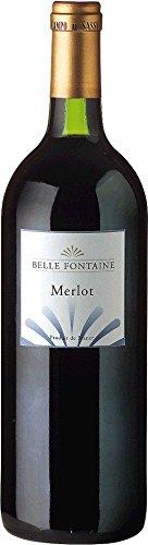 Belle Fontaine Merlot Vin de Pays d\'Oc (1,0l) 2017 (1 x 1 l)