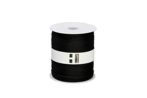 Hummelt® SilverLine-Rope Universalseil Polypropylenseil 3mm 100m schwarz auf Rolle