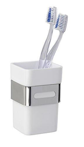 WENKO 22773100 Porte Gobelet Premium Plus, Acier Inoxydable, 6,5 x 10,5 x 9 cm