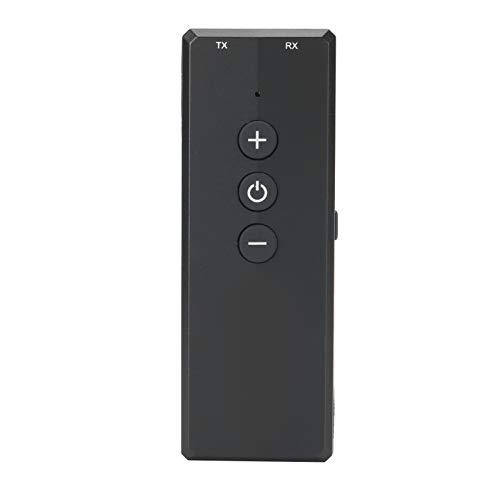 Weikeya Mini Bluetooth 5.0 Adaptador, 300mAh Polímero Litio Batería Abdominales 7 Horas Transmisor Modo Reproducción Tiempo ZF360A por Televisor Ordenador Personal Coche