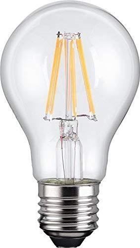 Goobay Filament-LED-Birne, 7 W; - Sockel E27, ersetzt 58 W, warm-weiß, Nicht dimmbar