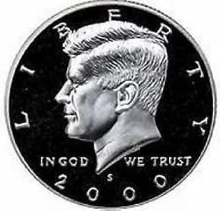 2000 S Gem Proof Kennedy Half Dollar US Coin Half Dollar Uncirculated US Mint