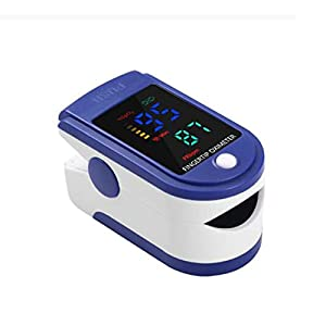 Joyfitness Monitor Portatili di Saturazione della Punta delle Dita Display a LED, Monitor di Saturazione di Ossigeno nel Sangue per La Frequenza del Polso E Il Livello di SpO2, Macchina all-in-One