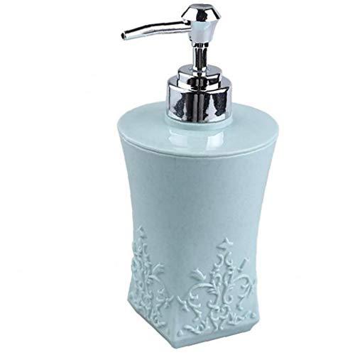 1PC Kreative Shampoo-Flasche europäischen Stil Luxus Handseife Flüssige Flaschen nachfüllbare Plastikflaschen Leak-proof Shampoo