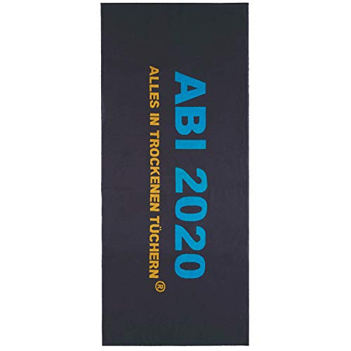 Egeria Strandtuch ABI 20 75x180cm Farbe Dunkelgrau