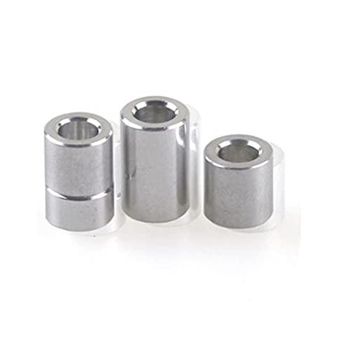 10 piezas M3 M4 M5 M6 m8 m10 arandela de aluminio redondo hueco sin rosca separador espesor 2/3/4/5/6/8/10/12mm-M8 10 unidades, grosor 6 mm