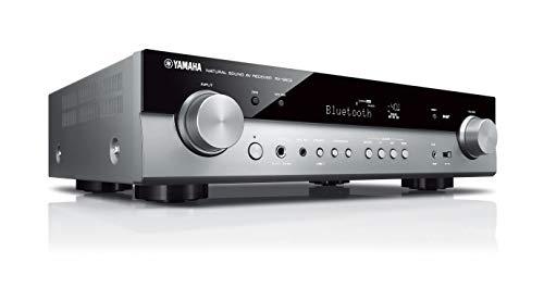 Yamaha RX-S602 MC AV-Receiver (Slimline Netzwerk-Receiver mit kraftvollem 5.1 Surround-Sound - für packendes Home Entertainment – Music Cast und Alexa kompatibel) titan
