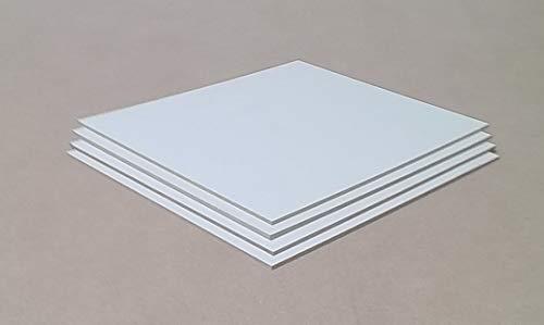 5mm starke MDF Platten weiß,Holzplatten, Abdeckplatten, Verpackungsplatten. Sondermaße auf Anfrage. (60x80cm)
