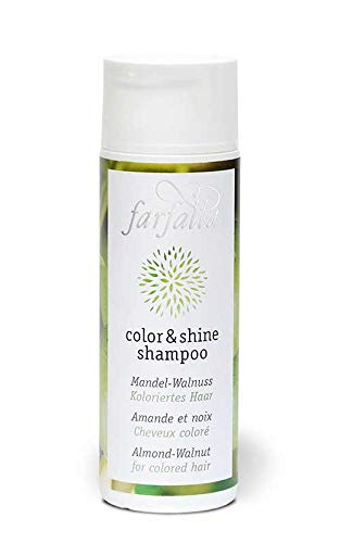 farfalla Color & shine shampoo, Mandel-Walnuss, 200 ml