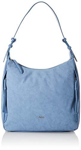 Gabor Schultertasche Damen, Hellblau, Boliva, 34x14x34 cm, Tasche, Shopper