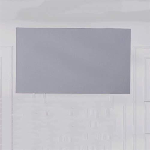 ZHUSHI Pantalla De Proyector HD De 80/100/120 Pulgadas Pantalla De Proyección De Video Sin Marco 16: 9 Pantalla Plegable De Pared para Oficina En Casa Pantalla Gris (Size : 80 Inch)