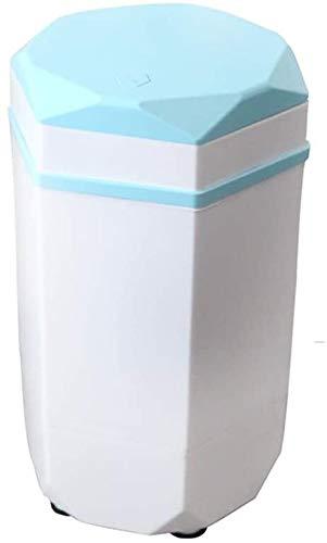 Kylin-k Mini Lavadora, Infantil y de bebé elución Special One, pequeño y Compacto, Azul Claro bacteriostática, Bionic Lavado de Manos, Agua y Electricidad de Ahorro, Rosa (Color : Blue)