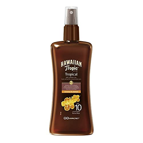 Hawaiian Protective Dry Spray Oil SPF10 200 ml
