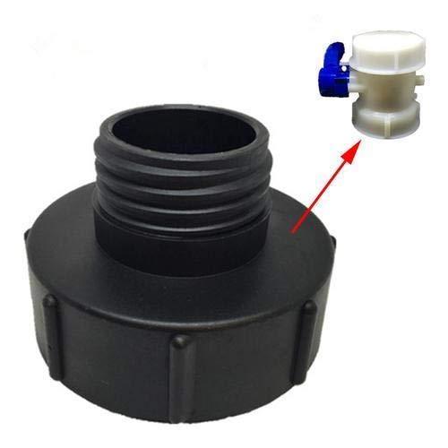 Magent IBC - Tapa de tanque, S100x8 hasta S60x6 IBC, conexión de tanque de plástico IBC, adaptador de conector de tanque, repuesto para riego de jardín