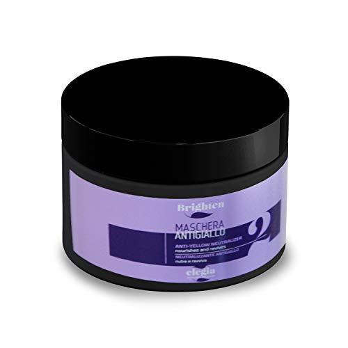 ✔ Balsamo Antigiallo Per Capelli Biondo - Shampoo professionale ✔ Linea Silver Shampoo ✔ Rivitalizza i Capelli Biondi, Decolorati e Con Meches ✔ 500 ml (Balsamo)