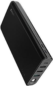 EasyAcc 20000mAh USB C Portable Power Bank