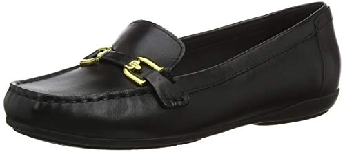 GEOX Woman D ANNYTAH MOC A SHOES BLACK_39 EU