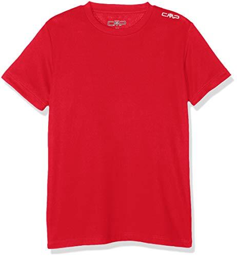 CMP T-Shirt Camiseta, Niños, Rojo (Ferrari), 98