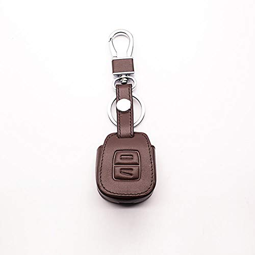 oiusNZI Cubierta de Cuero para Llave, Bolsa para Llave de Coche, Filtro, Accesorios para Llave de Coche, Carcasa Protectora, para Opel Astra Omega Axle MK4