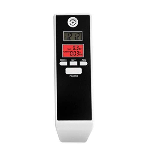 BAIYI Prefessional LCD Digital Atemalkohol-Tester mit Hintergrundbeleuchtung Alkoholtester Driving Essentials Einparkhilfe Gadget