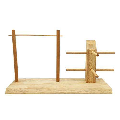soporte gafas madera de la marca jinrun