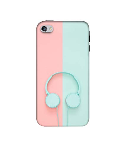 Amazon Brand - Solimo Designer Head Phone 3D Printed Hard Back Case Mobile Cover for Apple iPhone 4 / 4S