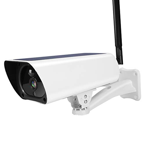 Cámara de Seguridad para Exteriores 1080P 4G Cámara IP con energía Solar Cámara de Seguridad de visión Nocturna CCTV Impermeable para Exteriores